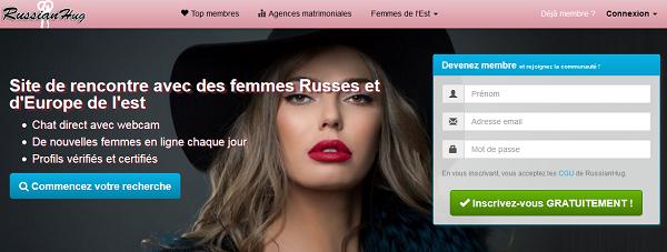 RussianHug Top 3 des sites de rencontre femme russe